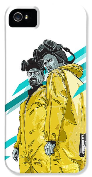 Bad iPhone 5 Cases - Breaking Bad iPhone 5 Case by Jeremy Scott
