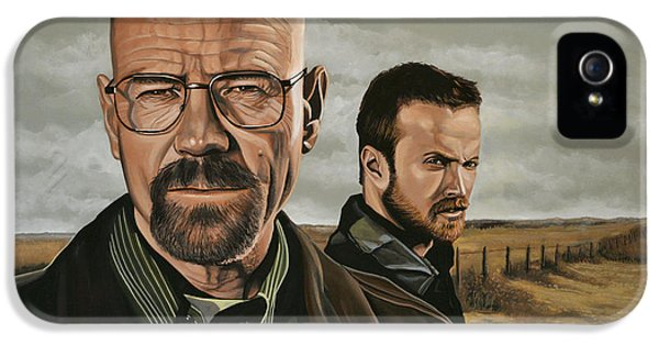 Bad iPhone 5 Cases - Breaking Bad iPhone 5 Case by Paul Meijering