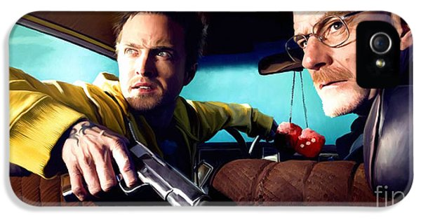 Bad iPhone 5 Cases - Breaking Bad iPhone 5 Case by Paul Tagliamonte