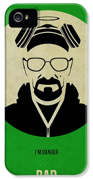 Bad iPhone 5 Cases - Breaking Bad Poster 1 iPhone 5 Case by Naxart Studio