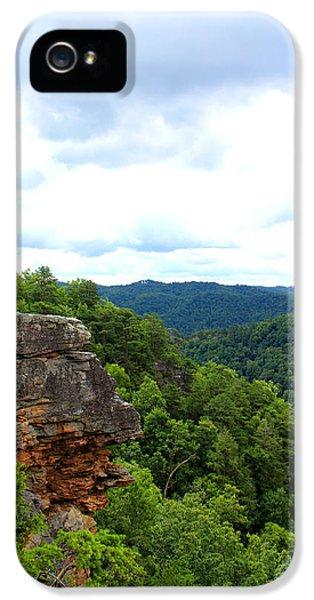 Broken iPhone 5 Cases - Breaks Interstate Park Virginia Kentucky Rock Valley View Overlook iPhone 5 Case by Design Turnpike