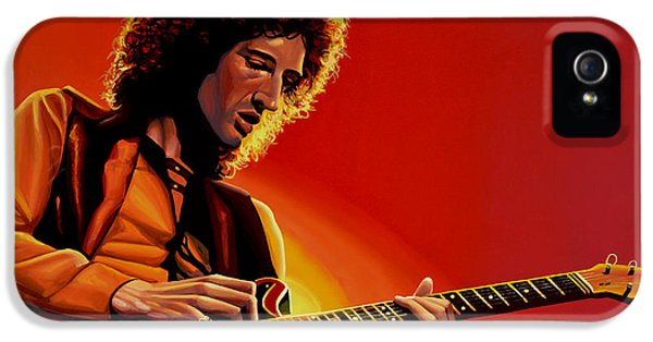 Festival iPhone 5 Cases - Brian May iPhone 5 Case by Paul Meijering