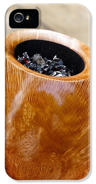 Pipes iPhone 5 Cases - Briar Pipe Bowl iPhone 5 Case by Frank Tschakert