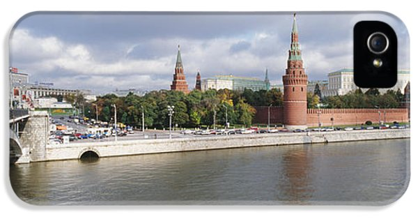 Archangel iPhone 5 Cases - Bridge Across A River, Bolshoy Kamenny iPhone 5 Case by Panoramic Images