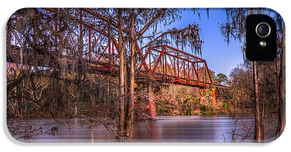 Farmland iPhone 5 Cases - Bridge Over Trouble Water iPhone 5 Case by Marvin Spates