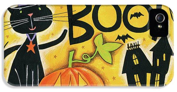 Bright Halloween II IPhone 5 / 5s Case by Anne Tavoletti
