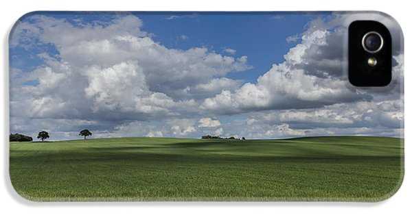 Agricultural iPhone 5 Cases - British Farmland iPhone 5 Case by Chris Fletcher