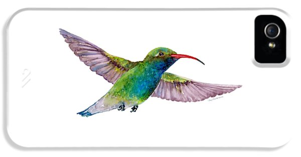 Broad Billed Hummingbird IPhone 5 / 5s Case by Amy Kirkpatrick