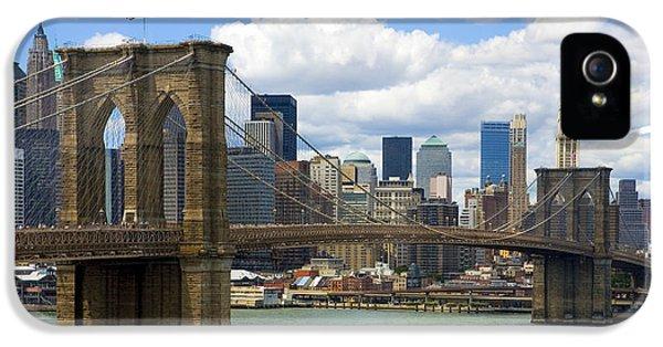 Brooklyn Bridge IPhone 5 / 5s Case by Diane Diederich
