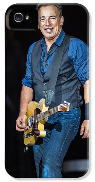 Bruce Springsteen IPhone 5 / 5s Case by Georgia Fowler