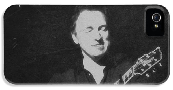 Born To Run iPhone 5 Cases - Bruce Springsteen The Boss iPhone 5 Case by Dan Sproul