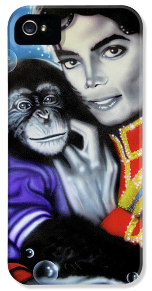 Music Legend iPhone 5 Cases - Bubbles iPhone 5 Case by Alicia Hayes