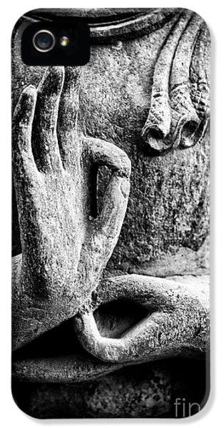 Buddha Hand Mudra IPhone 5 / 5s Case by Tim Gainey