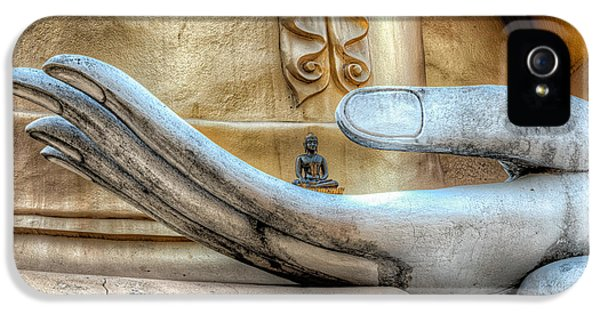 Hdr iPhone 5 Cases - Buddhas Hand iPhone 5 Case by Adrian Evans