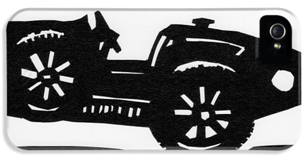 Bugatti Type 35 iPhone 5 Cases - Bugatti Type 35 iPhone 5 Case by Anna Ruzsan
