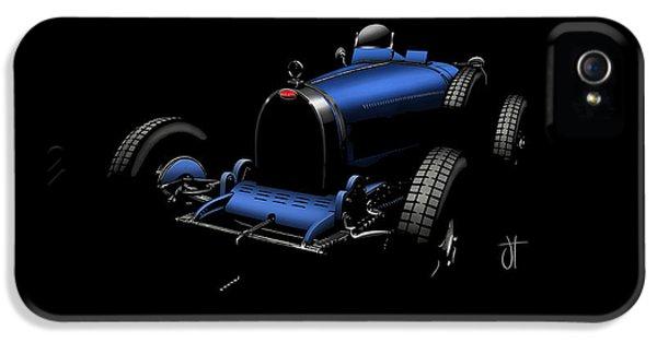 Bugatti Type 35 iPhone 5 Cases - Bugatti type 35 iPhone 5 Case by John Tiley