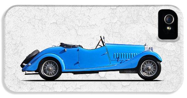 Bugatti Classic Car iPhone 5 Cases - Bugatti Type 44 1927 iPhone 5 Case by Mark Rogan