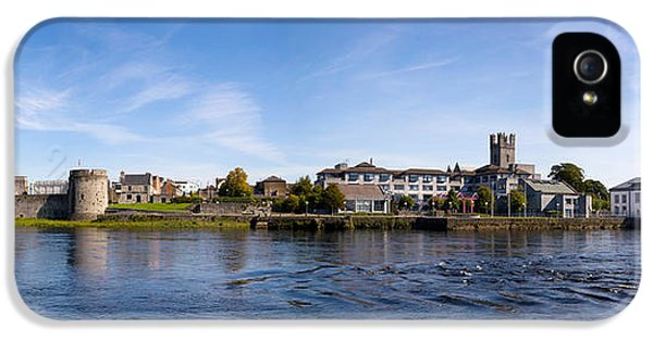 Social History iPhone 5 Cases - Buildings At The Waterfront, King Johns iPhone 5 Case by Panoramic Images