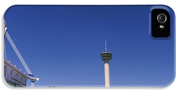 The Americas iPhone 5 Cases - Buildings In A City, Alamodome, Tower iPhone 5 Case by Panoramic Images