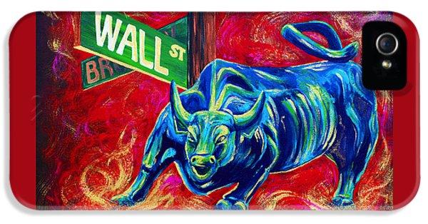 Bull Market IPhone 5 / 5s Case by Teshia Art