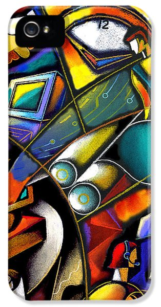 Technological iPhone 5 Cases - Business world iPhone 5 Case by Leon Zernitsky
