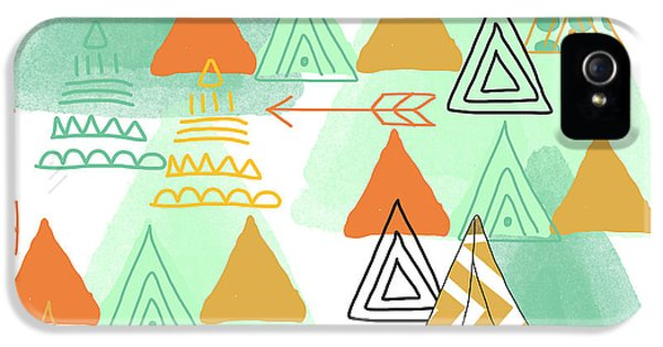 Camping iPhone 5 Cases - Camping iPhone 5 Case by Linda Woods