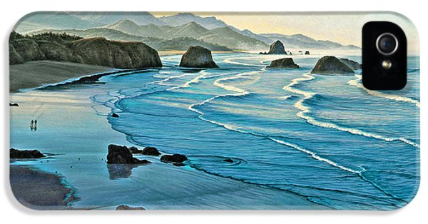 Oregon Coast iPhone 5 Cases - Cannon Beachcombers iPhone 5 Case by Paul Krapf