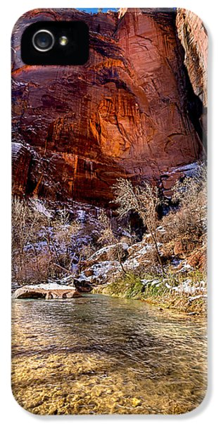 Christopher Holmes Photography iPhone 5 Cases - Canyon Glow iPhone 5 Case by Christopher Holmes