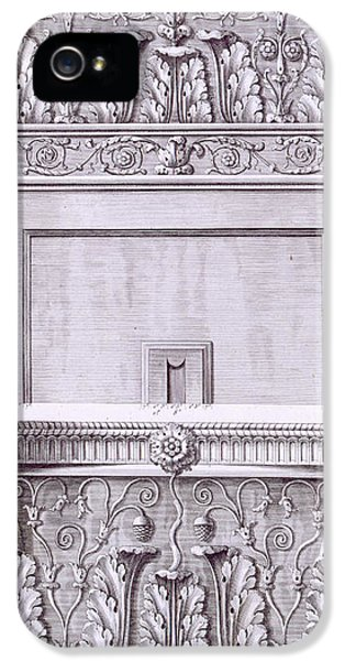 Classical iPhone 5 Cases - Capitals from the temple near the Roman Baths iPhone 5 Case by French School
