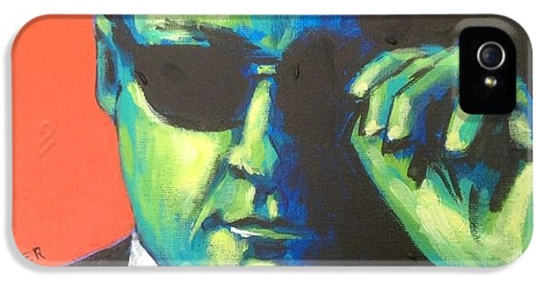 Tony Soprano iPhone 5 Cases - Capo iPhone 5 Case by Stuart Glazer