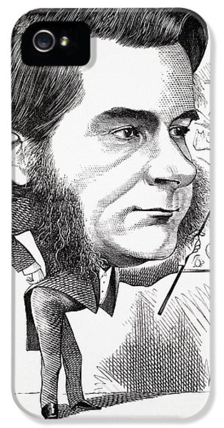 Caricature Of Thomas Huxley IPhone 5 / 5s Case by Paul D Stewart