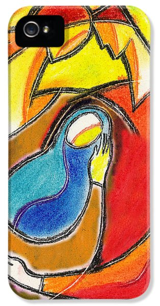 Husband iPhone 5 Cases - Caring iPhone 5 Case by Leon Zernitsky