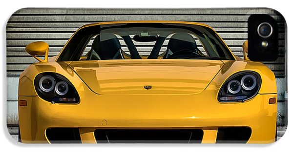 Roadsters iPhone 5 Cases - Carrera GT iPhone 5 Case by Douglas Pittman