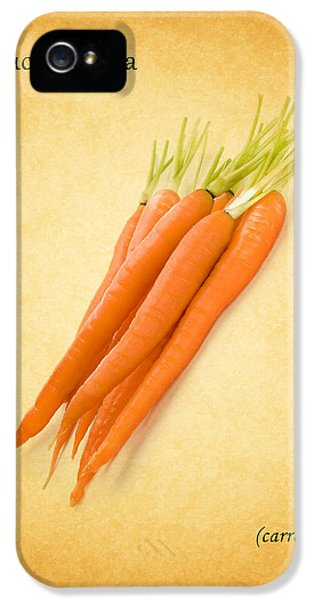 Carrot iPhone 5 Cases - Carrot iPhone 5 Case by Mark Rogan