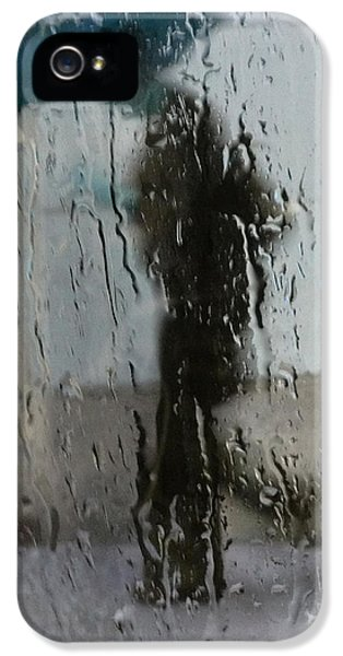 Rain.window iPhone 5 Cases - Carry My Blues  iPhone 5 Case by Jerry Cordeiro