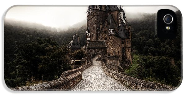 Castle iPhone 5 Cases - Castle in the mist iPhone 5 Case by Ryan Wyckoff