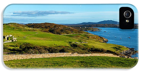 Social History iPhone 5 Cases - Castle On A Hill, Clifden Castle iPhone 5 Case by Panoramic Images