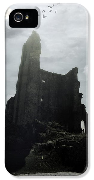 Ruins iPhone 5 Cases - Castle Ruin iPhone 5 Case by Joana Kruse