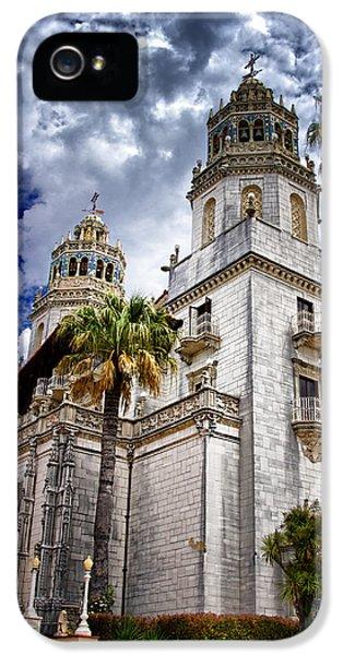 Casa Encantada iPhone 5 Cases - Castle Towers iPhone 5 Case by Jon Berghoff
