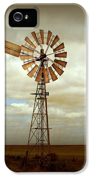 Windmill iPhone 5 Cases - Catch the Wind iPhone 5 Case by Holly Kempe