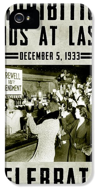 1930s iPhone 5 Cases - Celebrate iPhone 5 Case by Jon Neidert