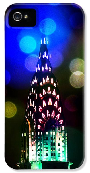 Midtown iPhone 5 Cases - Celebrate The Night iPhone 5 Case by Az Jackson