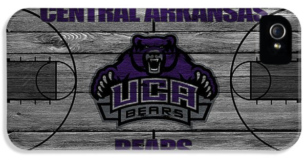 Central Division iPhone 5 Cases - Central Arkansas Bears iPhone 5 Case by Joe Hamilton