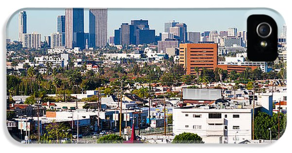 Century City, Beverly Hills, Wilshire IPhone 5 / 5s Case by Panoramic Images