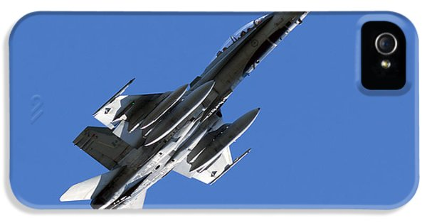 Mcdonnell Douglas iPhone 5 Cases - CF-18 Hornet iPhone 5 Case by Cale Best