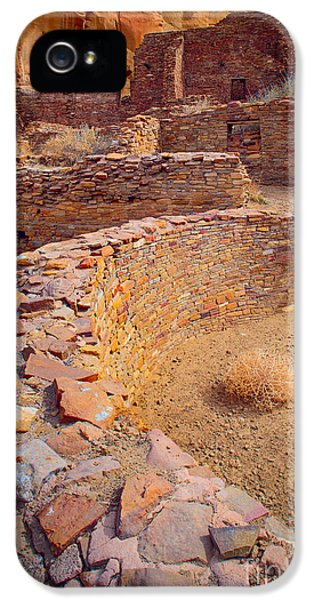 Pueblo iPhone 5 Cases - Chaco Ruins #1 iPhone 5 Case by Inge Johnsson