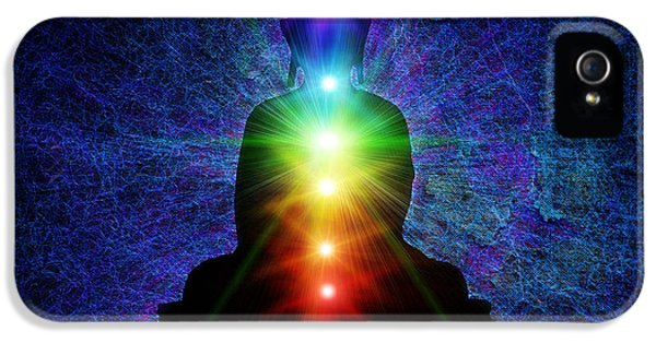 Chakra Buddha IPhone 5 / 5s Case by Tim Gainey