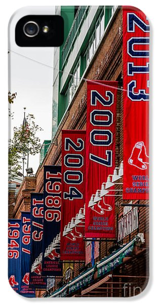 Boston iPhone 5 Cases - Champs Again iPhone 5 Case by Mike Ste Marie