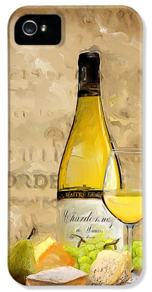 Eatery iPhone 5 Cases - Chardonnay IV iPhone 5 Case by Lourry Legarde