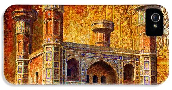 Pakistan iPhone 5 Cases - Chauburji Gate iPhone 5 Case by Catf